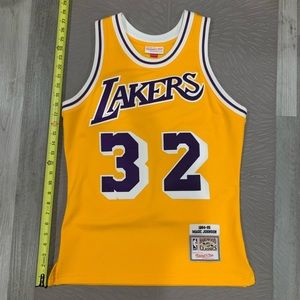 Mitchell & Ness Lakers Magic Johnson Jersey